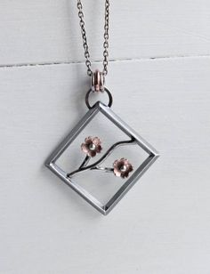 Cherry Blossom Statement Pendant Mother's Day Gifts