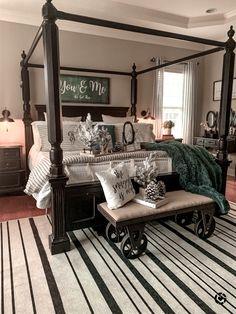 Room Design Bedroom, Room Ideas Bedroom, Home Bedroom, Bedroom Decor, Master Bedrooms, Dream Rooms, Dream Bedroom, Always Kiss Me Goodnight, H & M Home