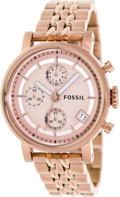 "women watches: Guide buy Fossil Women's ES3380 ""Decker"" Stainless Steel Watch"