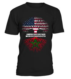 American grown, Moroccan roots  #gift #idea #shirt #image #funny #travel #trip #camping #new #top #best