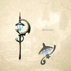 No. 608 - Lampent. #pokemon #lampent #scepter #pokeapon