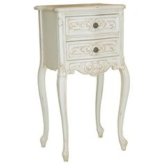 Chateau Nightstand with Cab Leg
