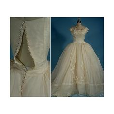 1800s wedding dress | Steampunk & Victorian & Rococo | Pinterest ❤ liked on Polyvore