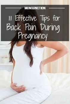 Back Pain During Pregnancy - 5 Causes And 11 Treatments: Pregnancy back pain is typically observed in the area where the pelvis meets your spine, at the sacroiliac joint.Here we've put down some tips and tricks to help you deal with back pain during early pregnancy.