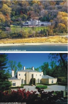And finally Adrian snr's house on Long Island Long Island, Red And Blue, Mansions, House Styles, Home Decor, Decoration Home, Manor Houses, Room Decor, Villas
