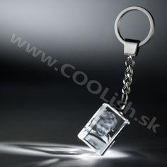 Darček Gravírovanie skla - Kľúčenka