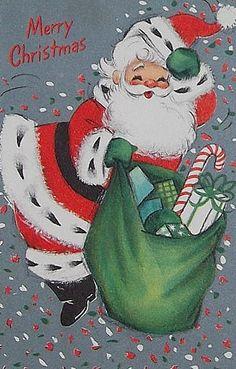 Vintage Santa Christ