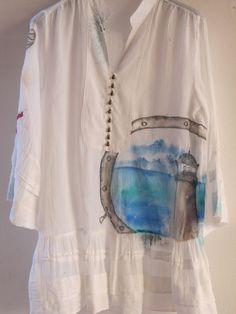 Vestito dipinto