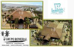 Restaurante Beach Club LEVANTICHON en La Línea. Pérgola de Junco Africano, decoración interior, palmeras, paisajismo. #gruporomeralproyectos #gruporomeral #juncoafricano #palapas #sombrillasplaya #pergolasjuncoafricano #exteriores #outdoor #Thatching #ThatchedRoof #Pergolas #Gazebo #junco #reed #Home #obras #reformas #pergolasdejuncoafricano #Luxury #lujo #Landscape #diseño #Design #cenadores #porches #hoteles #chiringuitos #discotecas #bares #gacebo #timber #madera #Construction…