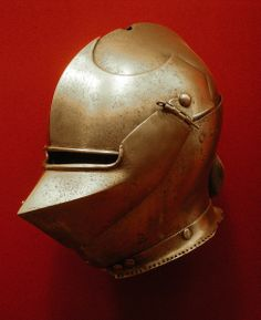 Bronze Bascinet Helmet