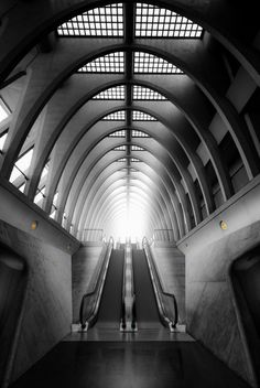 I Travel The World To Find And Photograph The Most Amazing Architecture Santiago Calatrava, Architecture Cool, Airport Design, U Bahn, Metro Station, World's Most Beautiful, Blog Voyage, Train Station, Bus Station