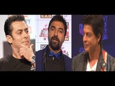 Checkout What Ajaz Khan said about Shahrukh Khan's FAN movie's teaser & Salman Khan's Bajrangi Bhaijaan movie's trailer. Also see : Ajaz Khan - I wish Shahru. Karan Johar, Gossip, Interview, Actors, Pakistani, Music, Youtube, Articles, Fictional Characters