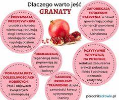 #granat #samozdrowie #dlaczegowarto Good To Know, Food And Drink, Nutrition, Healthy Recipes, Vegetables, Green, Wax, Healthy Eating Recipes, Vegetable Recipes
