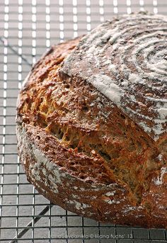 Multigrain sourdough bread by Akane86, via Flickr