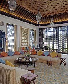 Love the Middle Eastern windows! At Doris Duke's Shangri La, Hawaii