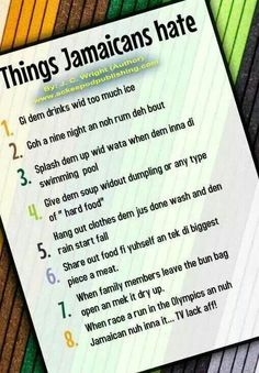True or not Jamaicans? Jamaican Quotes, Jamaican Slang Words, Robert Nesta, Nesta Marley, Jamaican Recipes, First Love, My Love, West Indian, My Roots