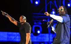 Indio, Ca. — Dr. Dre and Snoop Dogg perform at the #Coachella Music and Arts Festival on Sunday night.