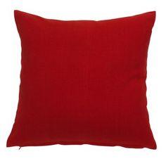 Tyyynypäällinen LILJE 40x40 punainen