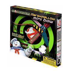 The Ghostbusters Mini Bow is just like the Classic Mini Bow but now in the Ghostbusters theme. See if you're the modern day William Tell with the highly accurate Marshmallow Fun Mini Bow. Snap action