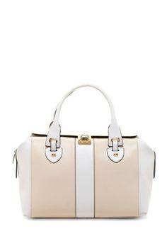 Barbara Structured Satchel Bag by Charles Jourdan on @HauteLook