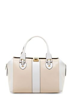 Barbara Structured Satchel Bag by Charles Jourdan on @HauteLook
