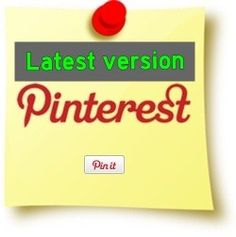 Pinterest Pin It button with Counter (latest update)