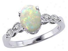 I want a opal wedding ring!