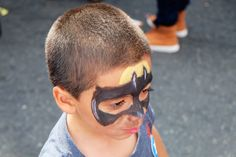 More face painting done by Katherine at the 30th Feria del Barrio! (2014)