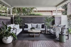 Inspired by an alfresco lifestyle, the Barcelona sofa offers a light, refreshing touch of elegance to this outdoor space by Coco Republic Interior Design. Outdoor Armchair, Outdoor Chairs, Outdoor Furniture Sets, Outdoor Decor, Indoor Outdoor Living, Outdoor Rooms, Luxury Decor, Home Decor Inspiration, Interior Design