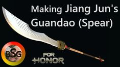 Making Jiang Jun's Guandao (Spear) from For Honor Game Presented by the Blacksmithing Gamer (Prop) For Honor came out with its new update Marching Fire this . For Honour Game, Game Presents, Blacksmithing, Corner, How To Make, Blacksmith Shop, Blacksmith Forge, Wrought Iron