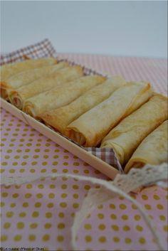 Ingrédients un paquet de 8 feuilles de brick 8 portions de kiri (ou autre fromage crémeux...