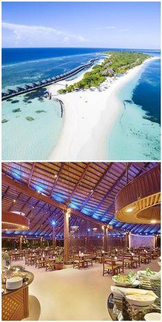 Kuredu Island, Misty Forest, Island Nations, Island Resort, Small Island, Natural Wonders, Hotels And Resorts, Laos, Singapore