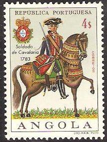 Angola. 1966. 4$. Trooper 1783.