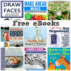 FREE EBOOKS: 50 Coconut Oil Recipes, A Mom's Guide to Making Money with Etsy, + More!