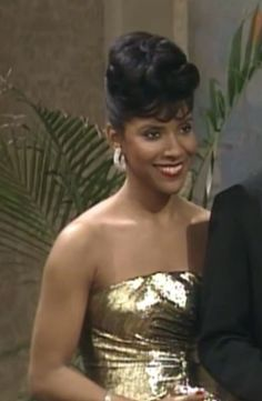 "Clair Huxtable- ""The Cosby Show"". My role model growing up!"