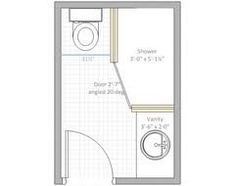 4 X 6 Bathroom. Image Result For  Bathroom Layout