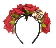 Receive an order within 24 hours! WATCH THIS ITEM. SHARE WITH A FRIEND. Includes: Headband w/ Flowers & Skull. One Size: Adult. Get all the latest Party4Me updates. ORDER BY 1PM. Be the First to Know. | eBay!