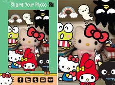 Sanrio Photo Fun with Hello Kitty® iOS App from Scarab Entertainment