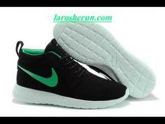Nike Roshe Run Print Homme rouge blanc