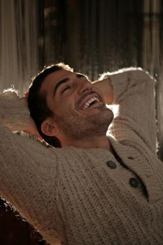 Miguel A. Silvestre - lovely smile