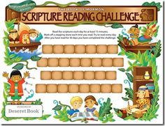Scripture reading charts