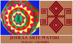 El manejo del color, por medio del contraste entre los tonos, es una de las características principales de los tejidos Wayuu.