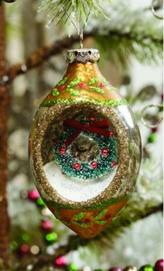 indented ornament