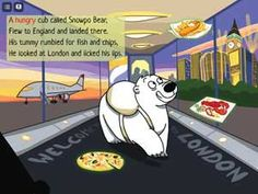 This is a funny story about Snowpo the polar bear cub who arrives in London searching for food. Ipod, Fisher, Early Reading, Best Mobile, 7 Year Olds, Fish And Chips, Best Apps, Funny Stories, A Funny