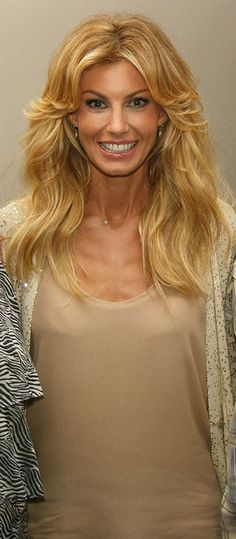 """Faith Hill-a big """"no"""" since her temper tantrum on national tv."""