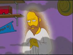 Jesus on Simpsons