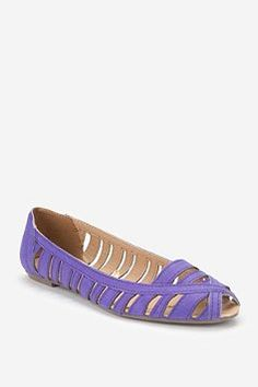 Ecote Peep-Toe Skimmer  Found @urbanoutfitters.com  comes in four colors