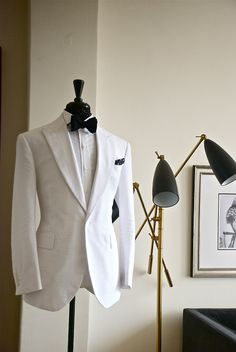 Impeccable tailoring, beautiful lines.