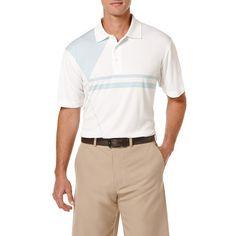 Ben Hogan Performance Geometric Print Short Sleeve Polo Shirt