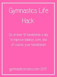 Gymnastics Life Hacks #1 – Gymnastics Rocks!